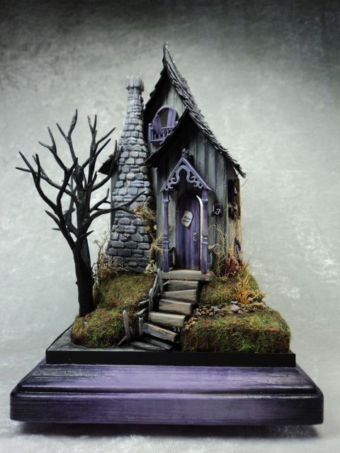 Make It Your Own Cottage Kit 1 4 Scale Haunted Cottage
